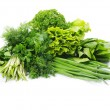 Herbs on white — Stock Photo #7742827