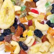 Mix dried fruits — 图库照片