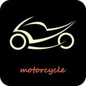 Motorcycle - vector icon — Stock Vector