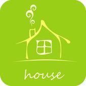 House - vector icon — Stock Vector