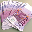 EURO - a bundle of money — Stock Photo