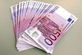 EURO - a bundle of money — Stock Photo
