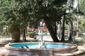 スペインの公園 — ストック写真