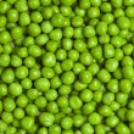 Sweet green peas background — Stock Photo