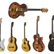 Guitars - Foto Stock