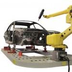 Welding robot — Stock Photo