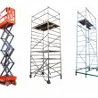 Scaffolds and lift — Stock Photo #7228173