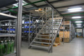 Warehouse — Stockfoto