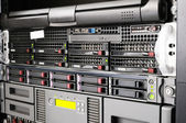 Rack servers — Stock Photo