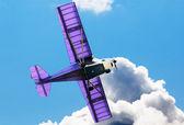 Airplane in flight — Stock Photo