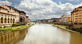 Arno river in Florence (Firenze) — Stock Photo