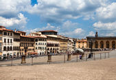 Square before Giardino di Boboli — Stock Photo