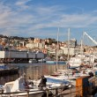 View of the Harbour in Genoa, Italy — Stock Photo