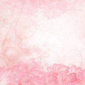 Romantic Background — Vector de stock