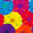 Stock Photo: Seamless pattern flower.