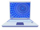 Portable computer laptop — Stock Photo