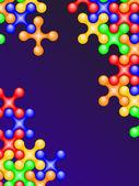 Color bubbles — Stock Photo