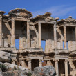 Library of Celsus in Ephesus — 图库照片