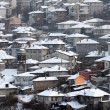 City of Veliko Tarnovo in the Winter — Stock Photo