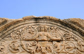 Deatail av tempel hadrian — Stockfoto