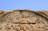 Deatail do templo de adriano — Foto Stock