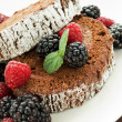 Berry roulade - Stock Photo