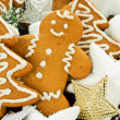 Gingerbread cookies — Stock Photo #7843468