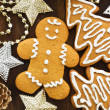 Gingerbread cookies — Stock Photo #7843477