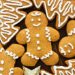 Gingerbread cookies — Stock Photo #7843489