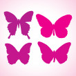 Butterflies — Stock Vector #6922354