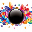 Colorful button — Stock Vector #6926532