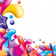 Colorful background — Imagen vectorial