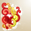 Colorful decorative element — 图库矢量图片