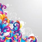 Ilustración de vector colorido — Vector de stock