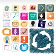 Royalty-Free Stock Vector Image: Hand drawn icons collection