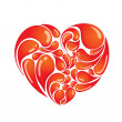 Royalty-Free Stock Vector Image: Heart design