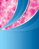 Streszczenie tło różowy i niebieski — Wektor stockowy