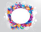 Festive frame design — Stock Vector