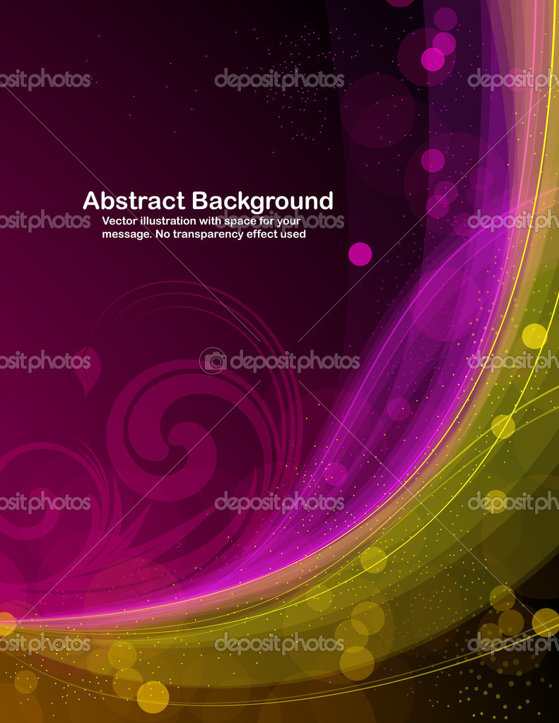 Abstract colorful background with bright sparks. RGB colors. Saved in EPS 10. All transparencies are editable.  — Stock Vector #6926539