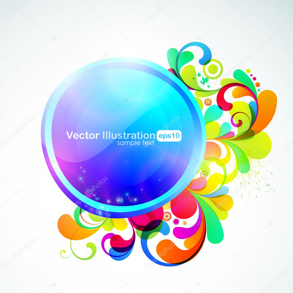 EPS10. Fully editable bar for your message. All elements are separated and can be used to create your own design. RGB gammut. — Stockvectorbeeld #6927700