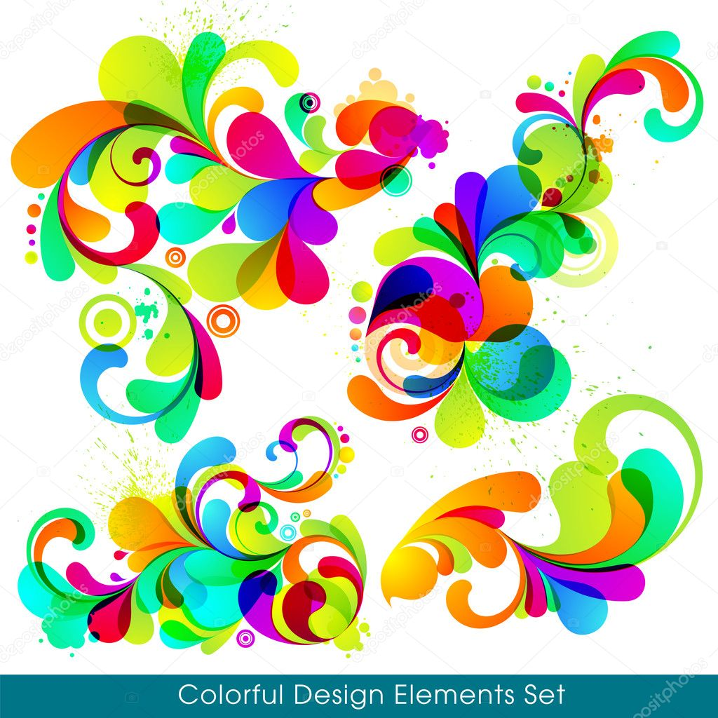 EPS10. Collection of modern, trendy design elements. — Stock Vector #6927783
