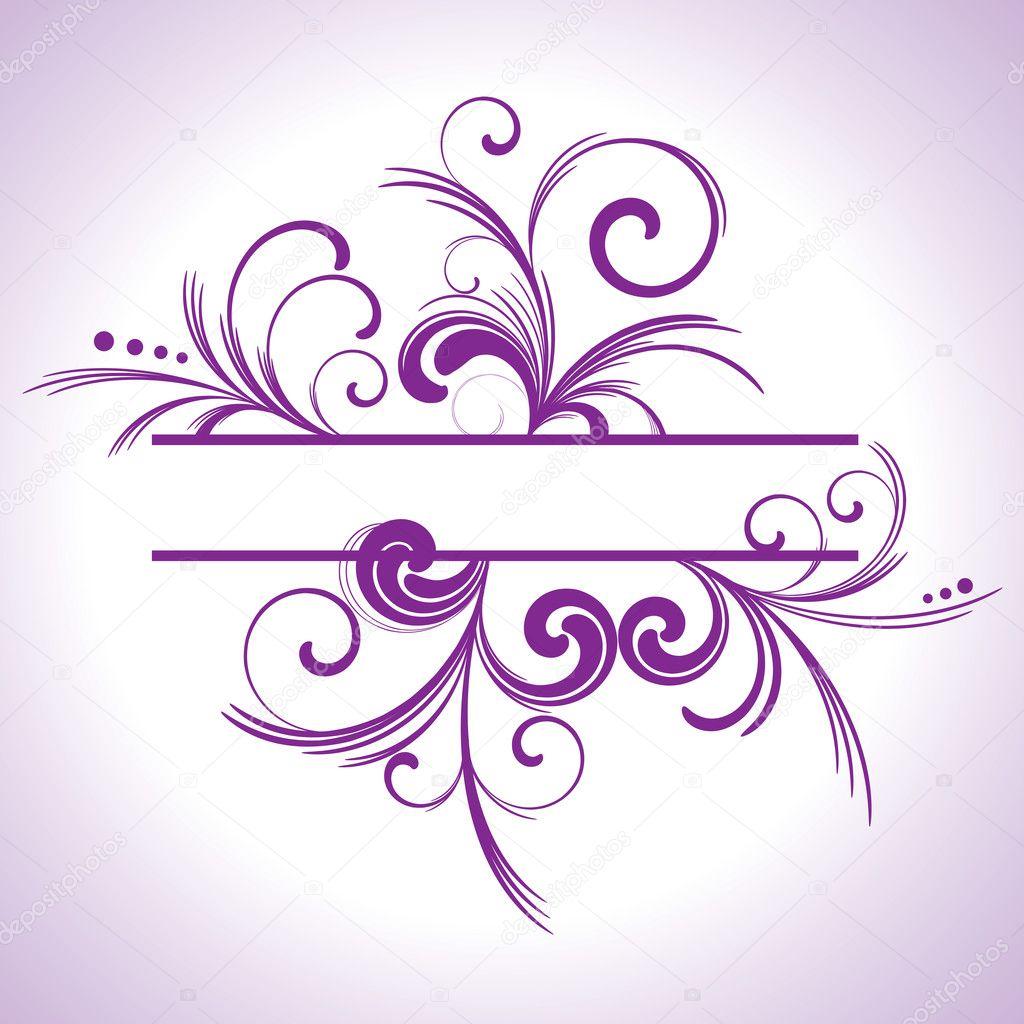 purple elegant borders - photo #1