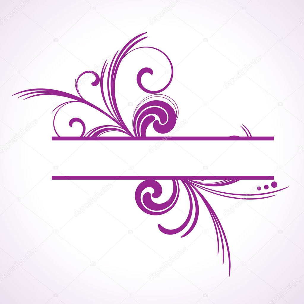 Displaying 18> Images For - Purple Swirl Border...