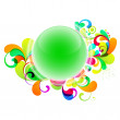 Shiny ball design — Stock Vector #6956485