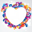 Wacky heart - Stock Vector