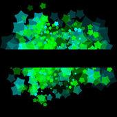 Transparent random stars background — Stock Vector