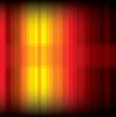 Yellow and red striped background — Stockvektor