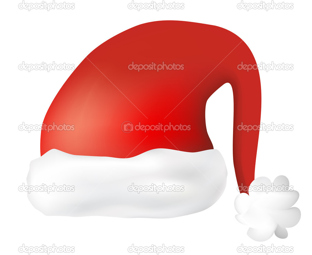 Red Santa Claus Hat — Stock Photo #7634038