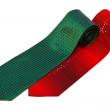 Stock Photo: Red and green ties