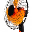 Orange fan — Stockfoto